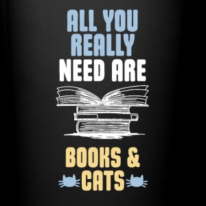 All You Really Need Are Books And Cats Mugs & Drinkware - Full Color Mug