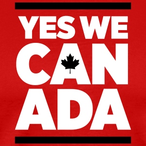 Yes we Canada_2c T-Shirts - Men's Premium T-Shirt