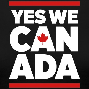 Yes we Canada_2c T-Shirts - Women's Premium T-Shirt