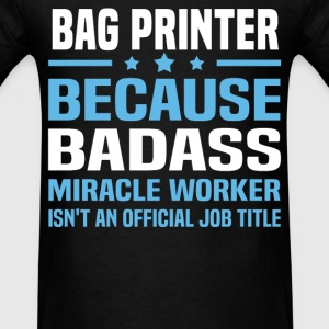 Bag Printer T-Shirts - Men's T-Shirt