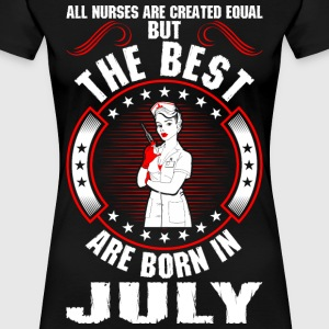 The Best Are Born In July T-Shirts - Women's Premium T-Shirt