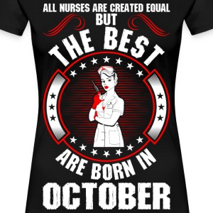 The Best Are Born In October T-Shirts - Women's Premium T-Shirt