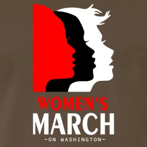 Women march on washington - Men's Premium T-Shirt