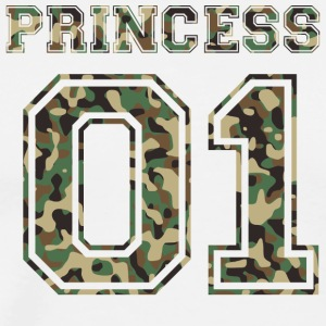 Princess_01_camo_2 - Men's Premium T-Shirt