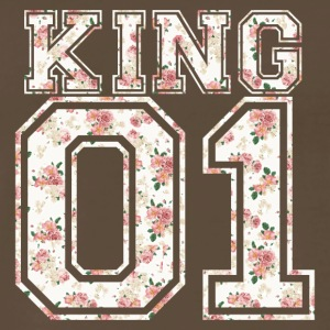 King_01_vintage_flower_bunt - Men's Premium T-Shirt