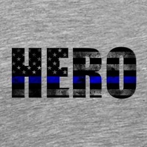 Hero back the blue flag - Men's Premium T-Shirt