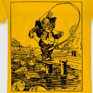 Confused Fisherman - Men's Premium T-Shirt