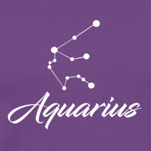 Aquarius Star sign Zodiac - Men's Premium T-Shirt