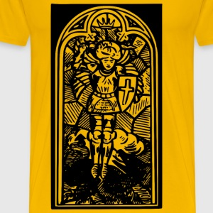 Stained glass window - Men's Premium T-Shirt