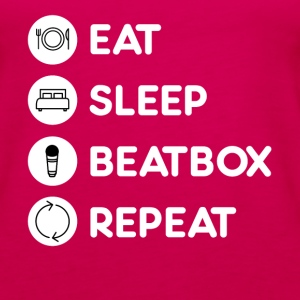 Beatboxing Eat Sleep Repeat Tanks - Women's Premium Tank Top