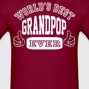 World's Best Grandpop - Men's T-Shirt
