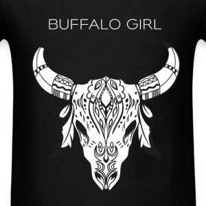 Buffaloes - Buffalo Girl - Men's T-Shirt