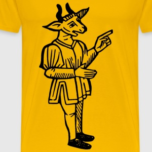 Goat man - Men's Premium T-Shirt