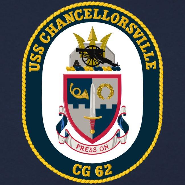 USS CHANCELLORSVILLE CG-62 1995 CRUISE SWEATSHIRT