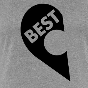Best  (besties) T-Shirts - Women's Premium T-Shirt