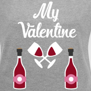 My valentine  T-Shirts - Women´s Roll Cuff T-Shirt