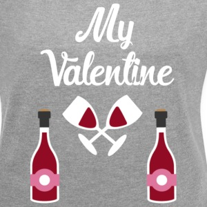 My valentine  T-Shirts - Women´s Rolled Sleeve Boxy T-Shirt
