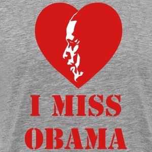 I Miss Obama - Men's Premium T-Shirt