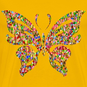 Iridescent Chromatic Butterfly - Men's Premium T-Shirt