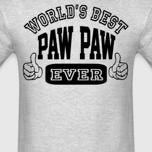 World's Best Paw Paw Ever - Men's T-Shirt