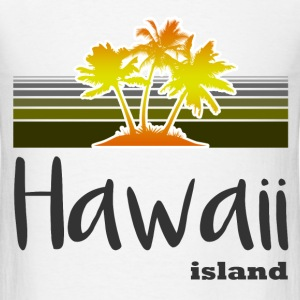 hawaii island 127182.png T-Shirts - Men's T-Shirt