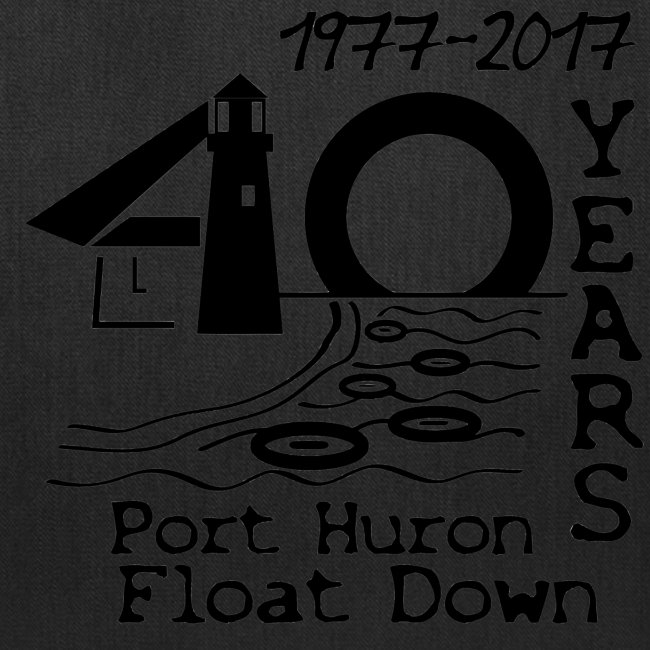 Port Huron Float Down 2017 - 40th Anniversary Tote