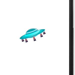 ufo blast off phone case - iPhone 7 Plus Rubber Case