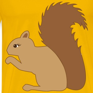 Squirrel Profile - Men's Premium T-Shirt