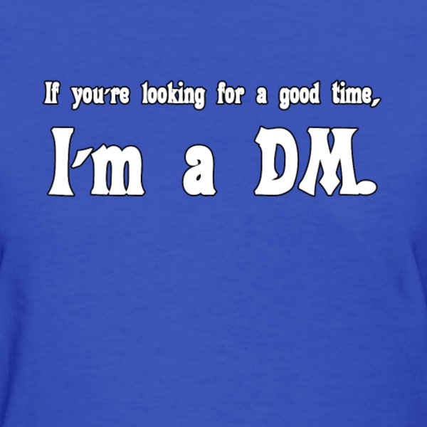 I'm a DM (Women's) - Women's T-Shirt