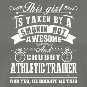 Smokin Hot Awesome Athletic Trainer Tee Shirt - Men's Premium T-Shirt