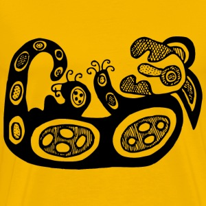 Aboriginal design 4 - Men's Premium T-Shirt
