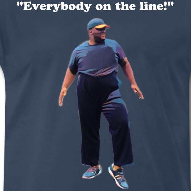 The Get on The Line Coach Tee