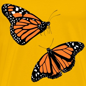 Monarch butterflies - Men's Premium T-Shirt
