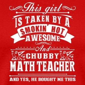 Smokin Hot Awesome Math Teacher Tee Shirt - Men's Premium T-Shirt