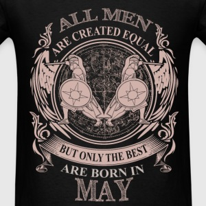 Men the  best are born in May Gemini - Men's T-Shirt
