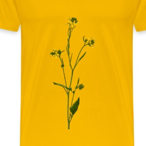 Black mustard (detailed) - Men's Premium T-Shirt