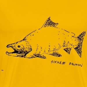 Sockeye Salmon - Men's Premium T-Shirt