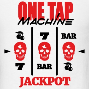ONE TAP MACHINE - Men's T-Shirt