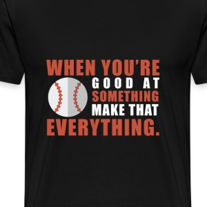 Baseball Thing - Men's Premium T-Shirt