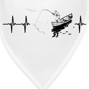 My heart beats for fishing Caps - Bandana