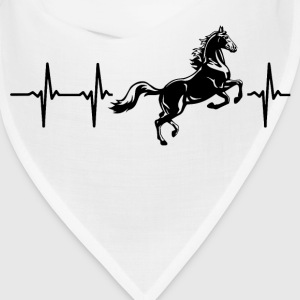 My heart beats for horses Caps - Bandana