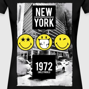 SmileyWorld New York City Skyscraper - Women's Premium T-Shirt