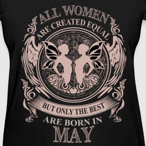 Women the best are born in May Gemini - Women's T-Shirt