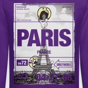 SmileyWorld Paris Eifel Tower - Crewneck Sweatshirt