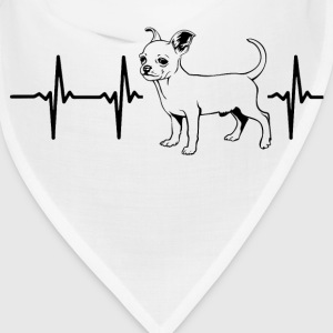 My heart beats for chihuahuas Caps - Bandana