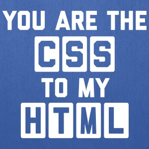 CSS To My HTML Funny Quote Bags & backpacks - Tote Bag
