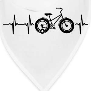My heart beats for bicycles Caps - Bandana