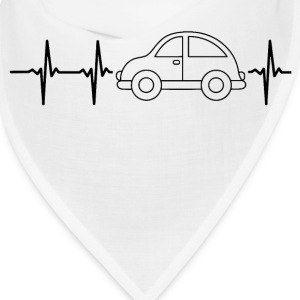 My heart beats for cars Caps - Bandana