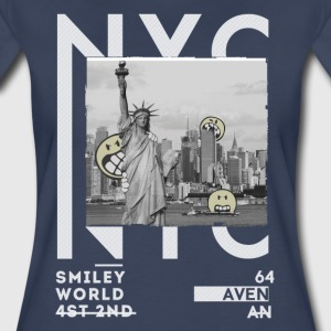 SmileyWorld NYC Statue Of Liberty - Women's Premium T-Shirt