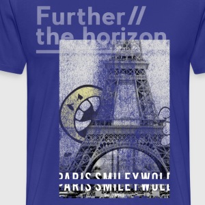 SmileyWorld Paris Eiffel Tower - Men's Premium T-Shirt